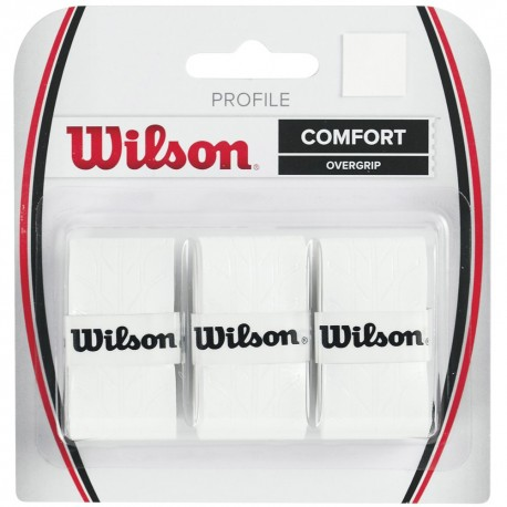omotávka Wilson Profile Overgrip white 3 ks