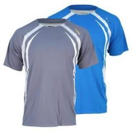 Pánské tenisové tričko Wilson Van Wyck grey