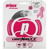 Tenisový výplet Prince LIGHTNING XX 1.25 pink 12.2m