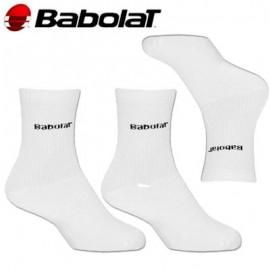 Pánské ponožky Babolat bílé  3 páry