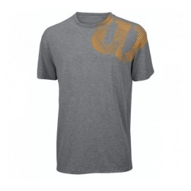 Pánské tenisové tričko Wilson  Geo  grey