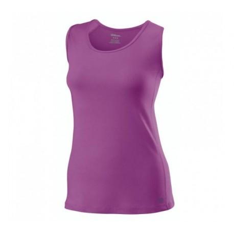 Dámské tenisové tričko Wilson Rush Tank lila