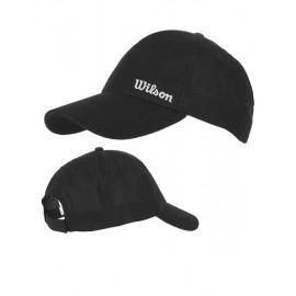 Kšiltovka Wilson Summer Cap black