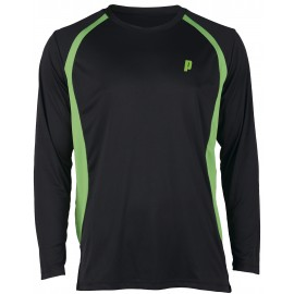 Pánské tenisové tričko Prince LS black