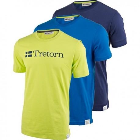 Pánské tenisové tričko Tretorn modré