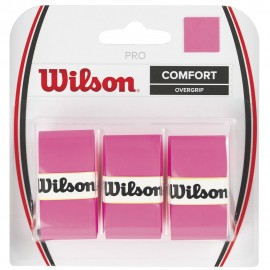 Tenisová omotávka Wilson Pro pink  3 kusy