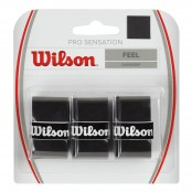Omotávka Wilson Pro Sensation black 3 ks