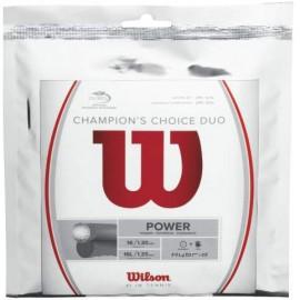 Tenisový výplet Wilson Champion's Choice Duo 12m