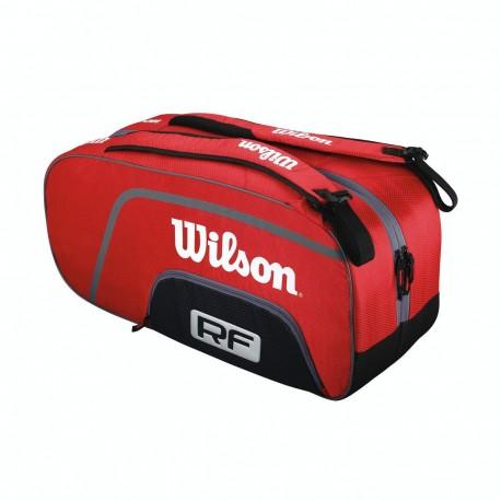 Tenisová taška Wilson Federer Team 6 red