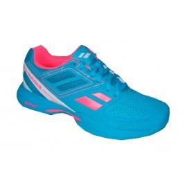 Dámská tenisová obuv Babolat Pulsion BPM Clay  Women blue