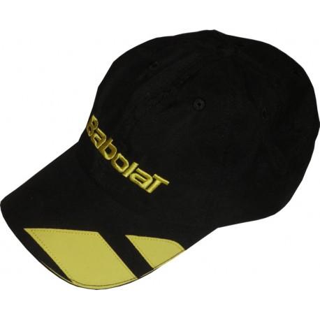 Kšiltovka Babolat Cap černá/žlutá