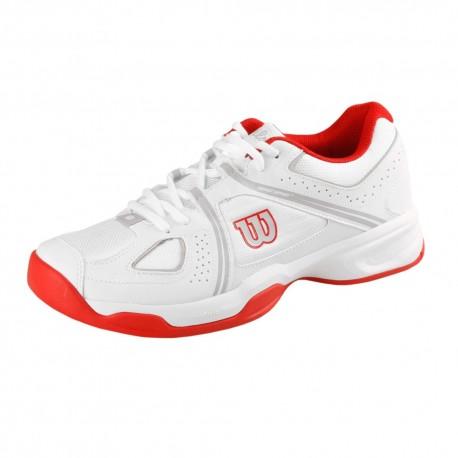 Pánská tenisová obuv Wilson NVision Envy white/red