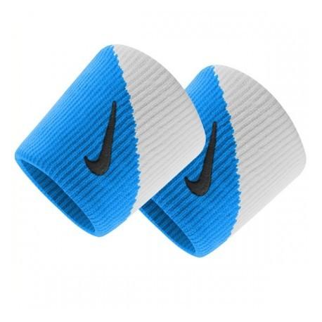 Potítka Nike Dri-Fit Wristbans 2.0 blau/white