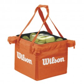 Taška na tenisové míče Wilson Tennis Teaching orange bag