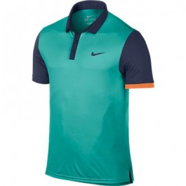 Pánské tenisové  tričko Nike Advantage Polo zelené