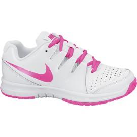 Tenisová obuv Nike Vapor Court junior whit/pink