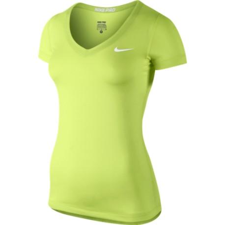 Dámské tričko Nike Pro SS V-Neck