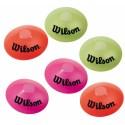 Tenisové značkovací kužely Wilson 6 ks