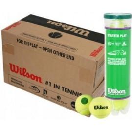 Tenisové míče Wilson Starter Play Green 72 kusy