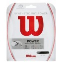 Tenisový výplet Wilson Synthetic Gut Power  1.30  12,2m