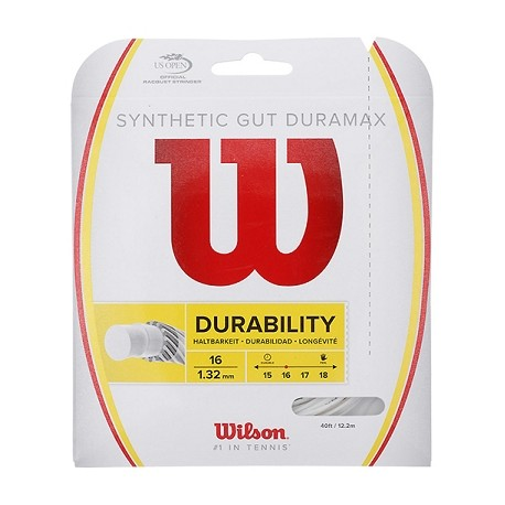 Tenisový výplet Wilson Synthetic Gut Duramax 1.32  12.2 m