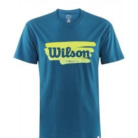 Pánské tenisové tričko Wilson Play Tennis ultramarine