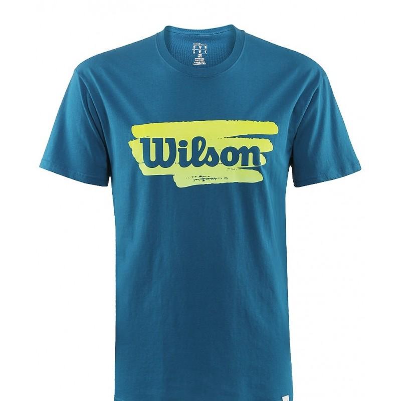 c879016a8e6f Pánské tenisové tričko Wilson Play Tennis ultramarine - Tenissport ...