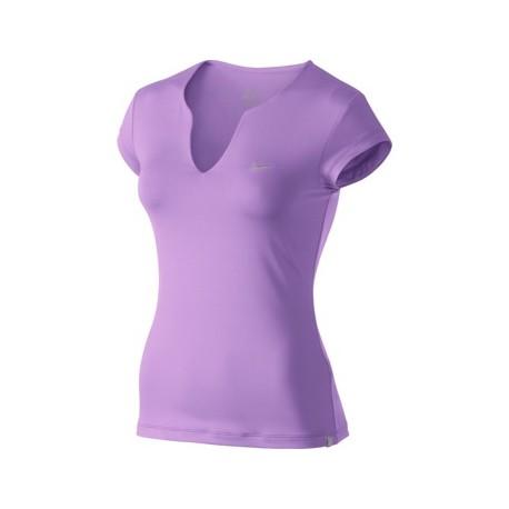 Dámské tričko Nike Pure SS Top pink