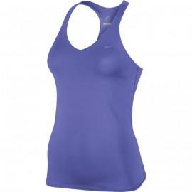 Dámské tenisové tílko Nike Advantage Solid  fialová