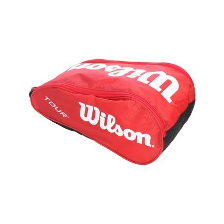 Vak na obuv Wilson Tour Shoe bag III red