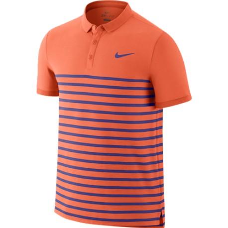 Pánské tenisové tričko Nike Advanced Dri-FIT  Polo Hot Lava /  Persian Violet
