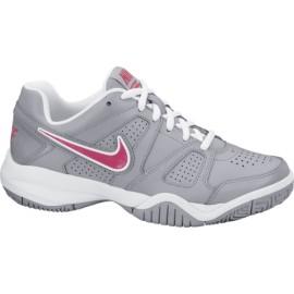Dětská tenisová obuv Nike City Court VII grey/pink