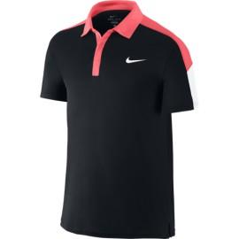 Pánské tenisové tričko Nike Team Polo black