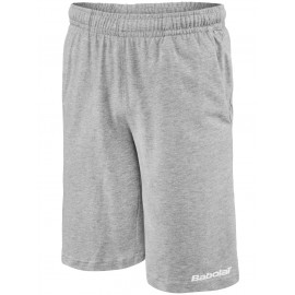 Chlapecké tenisové šortky Babolat Training Basic grey