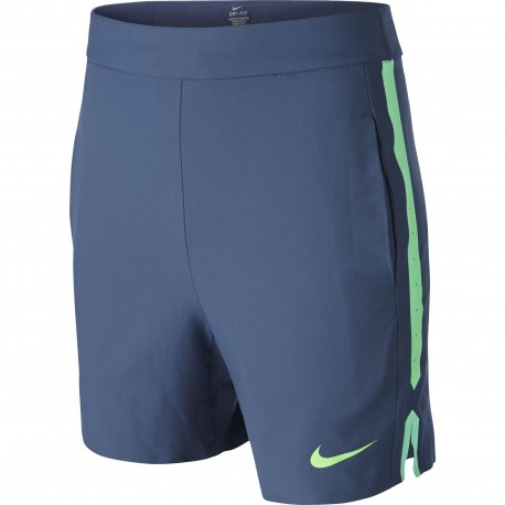 Chlapecké tenisové šortky Nike Gladiator blue/green