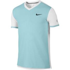 Pánské tenisové tričko Nike Premier RF blue