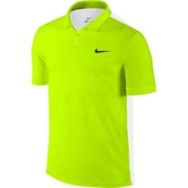 Pánské tenisové tričko Nike ADV Breathe Polo volt white