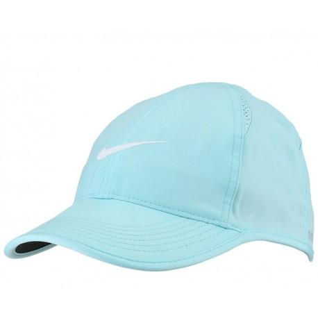Tenisová šiltovka Nike Featherlight  modrá