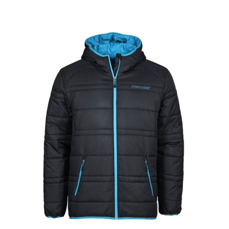 Pánská tenisová bunda Babolat Parka Training Basic Men black/blue