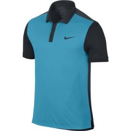 Pánské tenisové tričko Nike Advantage Polo blue lagoon/black