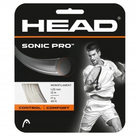 Tenisový výplet HEAD Sonic Pro 1.25 black 12 m
