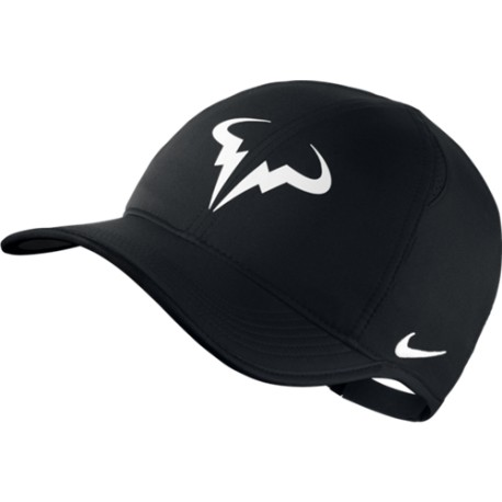 Kšiltovka NIKE Rafa Feather Light black