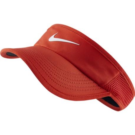 Dámský tenisový kšilt Nike Featherlight red