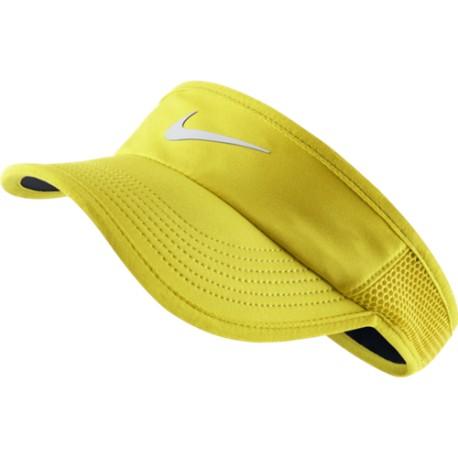 Dámský tenisový kšilt Nike Featherlight yellow