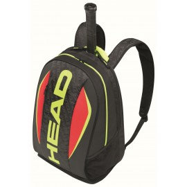 Tenisový batoh HEAD Extreme black/lime/red