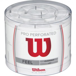 Tenisová omotávka Wilson Pro Perforated white  60 ks