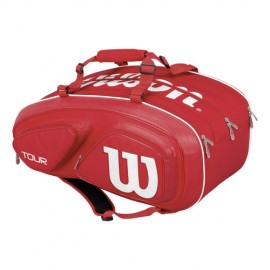 Tenisová taška Wilson Tour V 15 Pack red