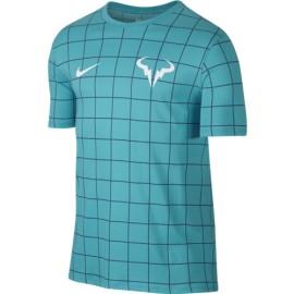 Pánské tenisové tričko Nike Rafa Crew beta blue/ocean fog