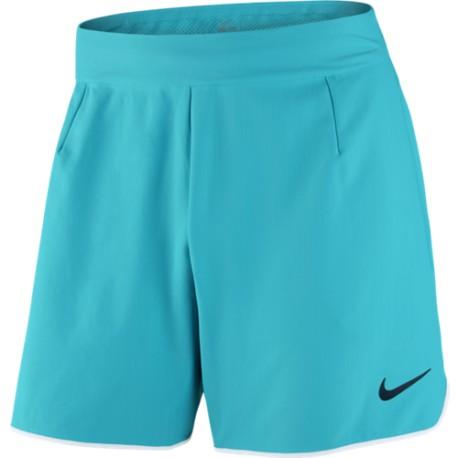 Pánské tenisové šortky Nike Gladiator Premier Omega blue/white