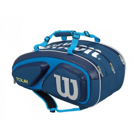 Tenisová taška Wilson Tour V 15 Pack blue